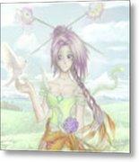 Princess Altiana Colour Metal Print