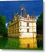 Princess Castle Metal Print