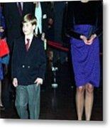 Princess Diana Harry Metal Print