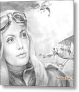 Princess Eugenie M Shakhovskaya Historic Czar Russia Featured By Angelina Jolie Metal Print