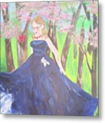 Princess In The Forest Metal Print