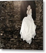 Princess In The Tower Metal Print