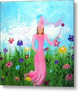 Princess Kennedy's Garden Metal Print