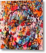 Princess Of Happiness Metal Print