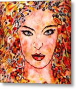 Princess Of The Universe Metal Print