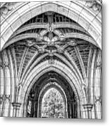 Princeton University Arched Walkway Metal Print