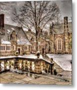 Snow / Winter Princeton University Metal Print