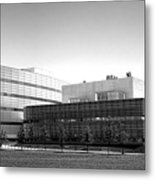 Princeton University Neuroscience Institute And Peretsman Scully Metal Print