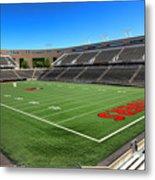 Princeton University Stadium Powers Field Metal Print