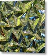 Prismic Sea Metal Print