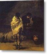 Prison Scene Francisco Jose De Goya Y Lucientes Metal Print