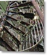 Prison Spiral Staircase Metal Print
