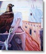 Prisoner Of Tradition-day Of Hopi Eagle Sacrifice Metal Print