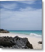 Private Bermuda Beach Metal Print
