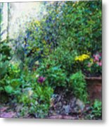 Private Garden Metal Print