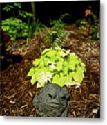 Private Garden Go Away Metal Print