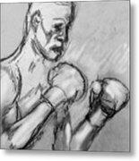 Prizefighter Metal Print