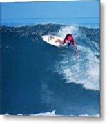 Pro Surfer Alex Ribeiro-6 Metal Print