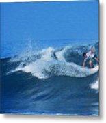Pro Surfer Gabe King - 2 Metal Print