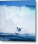 Pro Surfer Gabe King -6 Metal Print