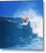 Pro Surfer Nathan Hedge-1 Metal Print
