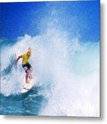 Pro Surfer-nathan Hedge-5 Metal Print