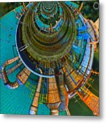 Processing Point 2 Metal Print by Wendy J St Christopher
