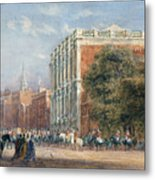 procession with Queen Victoria Metal Print