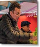 Produce Vendor Venice Italy_dsc4540_03032017 Metal Print