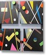 Progressiv Pop Art Msc 009 Metal Print