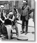 Prohibition, C1921 Metal Print