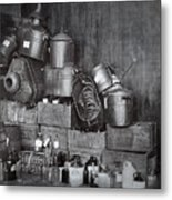 Prohibition Confiscated Stills  1920's Metal Print