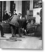 Prohibition, Prohibition Officers Metal Print by Everett