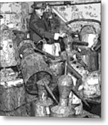Prohibition Stills Inspected By Treasury Agents Metal Print