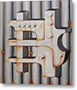 Project Object Series Metal Print