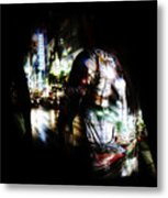 Projection - Body 2 Metal Print