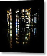 Projection - City 1 Metal Print