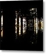 Projection - City 3 Metal Print