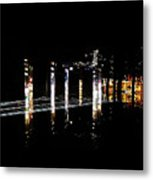 Projection - City 5 Metal Print