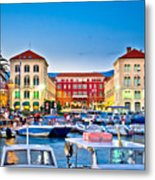 Prokurative Square In Split Evening Colorful View Metal Print