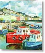 Promenade At Cobh Metal Print