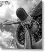 Prop Engine Metal Print