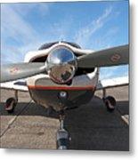 Piper Pa-32-300 Cherokee Six Prop  Metal Print
