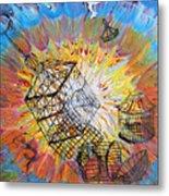 Prophetic Message Sketch 30 Set Free Metal Print by Anne Cameron Cutri