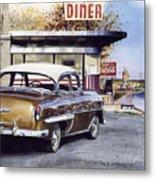 Prospect Diner Metal Print