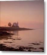 Prospect Harbor Dawn Metal Print by Susan Cole Kelly
