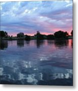 Prosser Pink Sunset 5 Metal Print