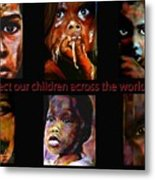 Protect Our Children Metal Print