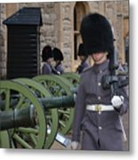 Protecting The Tower Of London Metal Print