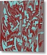 Protractor Memories Metal Print